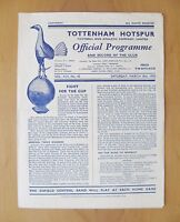 1950 FA Cup Semi-Final ARSENAL v CHELSEA Excellent Condition Football Programme