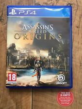 Assassins Creed Origins EMPTY BOX PS4 NO GAME Replacement Case