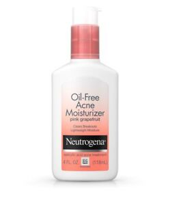 Neutrogena Oil-Free Acne Moisturizer Pink Grapefruit (4.0 fl oz)