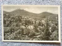 1 alte AK Deutschland, Eisenach, Blick zur Wartburg ungelaufen 1955