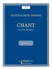 AUGUSTA READ THOMAS - CHANT - THOMAS, AUGUSTA READ (COP) - NEW PAPERBACK BOOK