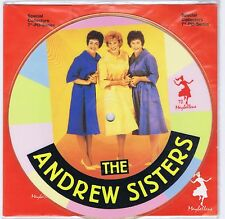 THE ANDREW SISTERS Bei Mir Bist Du Schön 45 RPM Maybelline Picture Disc 1987