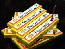 12 Pakete PANCHAVATI Räucherstäbchen Dhoop sticks 10 cm