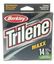 BERKLEY TRILENE MAXX 14LB/330YDS LOW-VIS GREEN MONOFILAMENT FISHING LINE