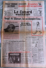 Le Canard Enchainé 16/10/1985; Des magistrats pillaient le dépôt des objet volés