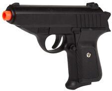 Black Metal Spring Airsoft Pistol Hand Gun 250FPS James Bond Replica 1:1 Colt 25
