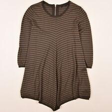 COS Damen Pullover Sweater Strick Gr.S (D36) Wolle Kleid Tunika Mehrfarbig 82211