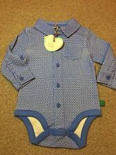d79742cb0 Little Bird By Jools Oliver Geo Print Baby Bodysuit 3-6 Months Retro Shirt