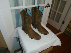 Ariat Women's size 7 B Legend Brown Leather Western Cowboy Boots 10001053