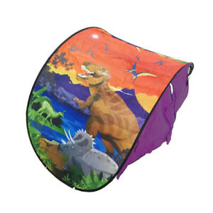 Baby Kids Dream Tents Dinosaur Island Foldable Pop Up Tent Camping Outdoor Toy