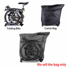 RockBros Bike Loading Package For Brompton Folding Bike Black Bag Storage Pack