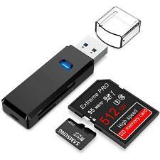 LUPO USB 3.0 Multi Lettore di Schede - Supporta SD SDHC MMC RSMMC Nero