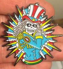 Glow In the Dark Electric Sam Grateful Dead Hat pin and co fare thee well denver