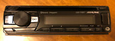 ALPINE CDE-172BT CD USB MP3 AUX IPOD IPHONE EQUALIZER EQ BLUETOOTH RADIO Used