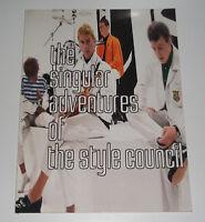 The Singular Adventures Of The Style Council 1989 Paperback Sheet Music & Lyrics