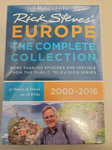 Rick Steves' Europe: The Complete Collection 2000-2016 (DVD) - New, Sealed