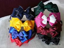 Jemlana's handmade school hair bands for girls...