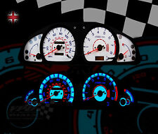 Nissan Almera mk1 GTI Speedometer speedo lighting bulb upgrade white dial kit