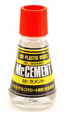Mr. Cement Liquid Glue 25 ml. For Plastic Models - Colla Liquida Falcone 25 ml.