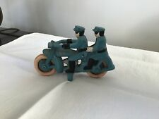 Cast Iron Tandem Police Motorcycle