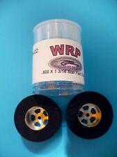 WRP Drag Star .500 X 1 3/16 Rear 1/24 Slot Car Drag Tires  W-02