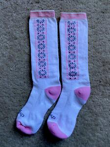 Dansko Compression Socks Pink Floral Calf NWOT