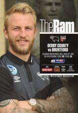 Derby County Teams C-E Football League Fixture Programmes