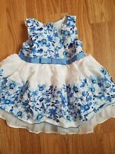 George 6-9 Month Baby Dress Blue