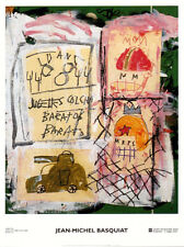 Untitled by Jean-Michel Basquiat Art Print 2002 Italian Museum Poster 31.5x23.5