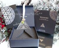 2020/2021 NIB WATERFORD ANNUAL TIMES SQUARE TRIANGLE GIFT OF HAPPINESS ORNAMENT