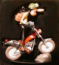 FIGURINE JOE BAR TEAM EDGAR DEBOUT BIKE MONTESA COTA 1/18 MOTO RESINE BD