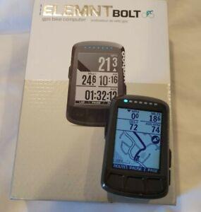 Wahoo ELEMNT BOLT GPS Road Bike Computer - Includes box and aero mount WFCC3