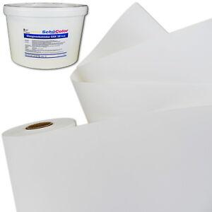 Glasvlies 195g/m² weiß pigmentiert 50m² Glasfaservlies Glattvlies Vlieskleber