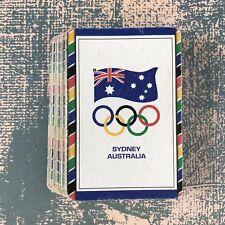 Vintage Playing Cards Sports Sydney Australia Olympics
