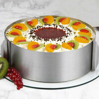 Retractable Stainless Steel 1 Pc Circle Mousse Ring Baking Tool Cake Mould Mold