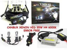 CANBUS Xenon HID Kit Di Conversione Errore libero Doppio FASCIO H4 6000K