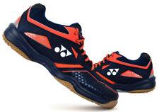 Yonex Unisex Badminton Shoes Power Cushion 36 Wide Navy Blue Racket SHB-36WEX