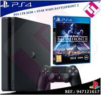 VIDEOCONSOLA PS4 PLAYSTATION 4 1TB STAR WARS BATTLEFRONT 2 FACTURA CON GARANTIA