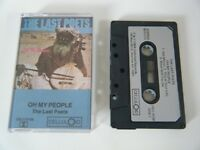 THE LAST POETS OH MY PEOPLE CASSETTE TAPE 1984 SILVER PAPER LABEL CELLULOID