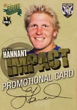 2010 NRL SELECT CHAMPIONS BULLDOGS BEN HANNANT COMMON PROMO CARD FREE POST