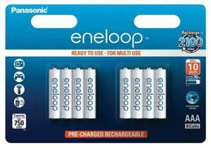 8 Panasonic Akku AAA 750mAh eneloop pre-charged im 8er Blister