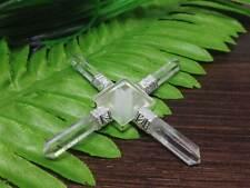 Clear Quartz Pyramid Energy Generator with quartz crystal pyramid - EG8