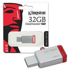 Kingston DT50/32GB 32GB USB 3.0 / 3.1 Stick flash drive red small DataTraveler