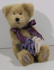 Boyds Bears Plush Flora Thanksabunch Fabric Message Teddy Bear Jointed 903026
