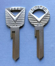 2 FORD Mustang 1964 1965 1966 64 65 66 V Key Blanks