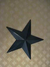 "12"" Black Barn Star Metal Primitive"
