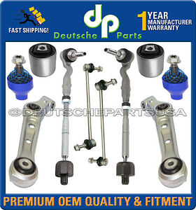 Front Lower Control Arm Arms Ball Joints Tie Rod SUSPENSION BMW XDrive Kit 10pc