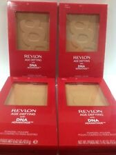 4 X Revlon Age Defying with DNA Advantage Powder, DEEP #25- New & Sealed Compact