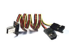 GoPro Hero 3 4 FPV Live Video Kabel mit 2 JR Servo Stecker Stromversorgung 5V