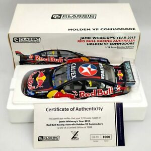 Classic Carlectables 1:18 Jamie Whincup's 2015 Holden VF Commodore #1 18586